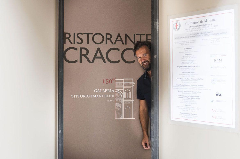 Cracco anteprima nel nuovo ristorante in galleria paolo for Cracco biografia